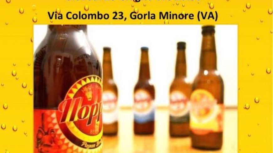 Il Mescitore Winery di Gorla Minore ospita la degustazione di Hoppy