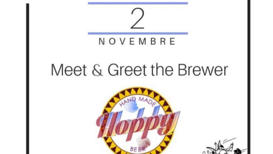 Meet & Greet the Brewer: Hoppy Hobby al Rolling Goat