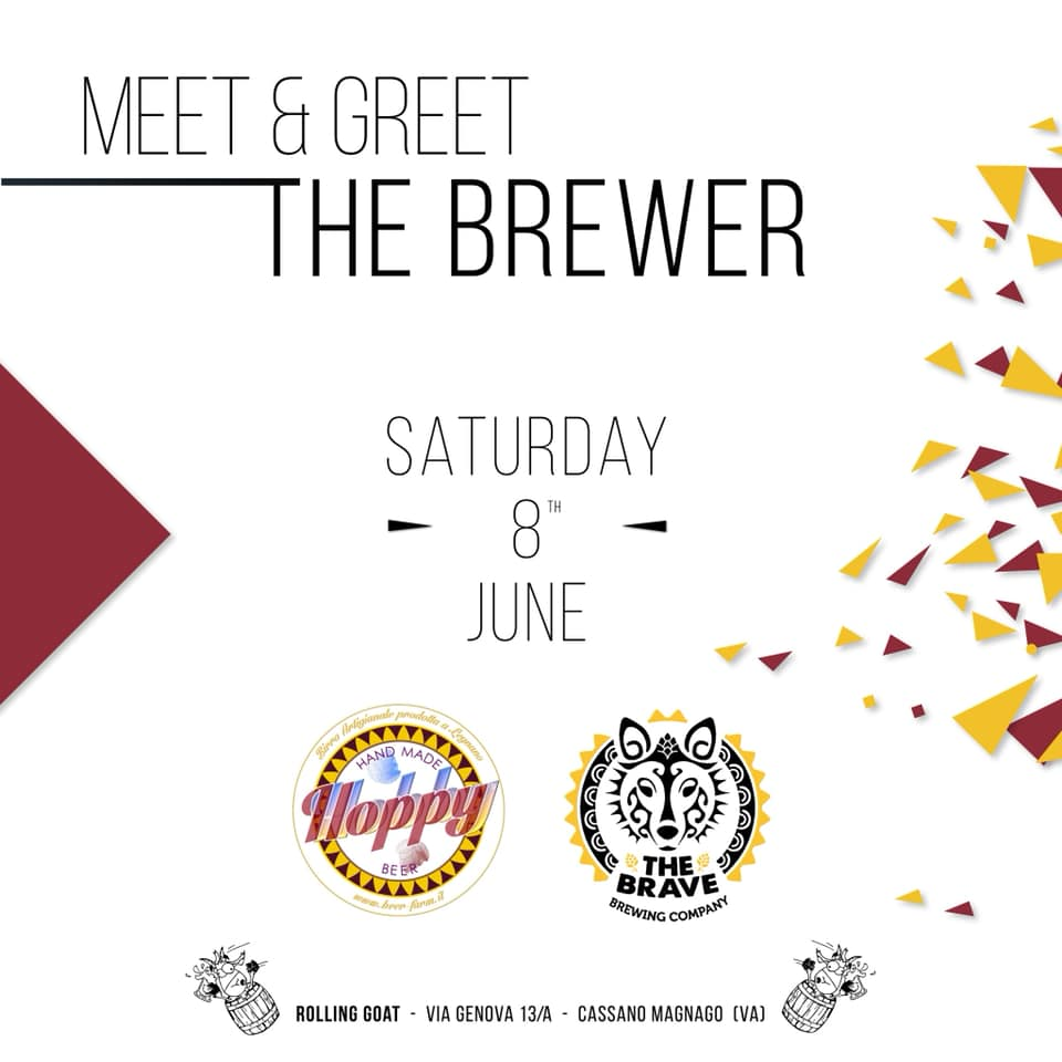 Meet & Greet the Brewer: HoppyHobby & The Brave