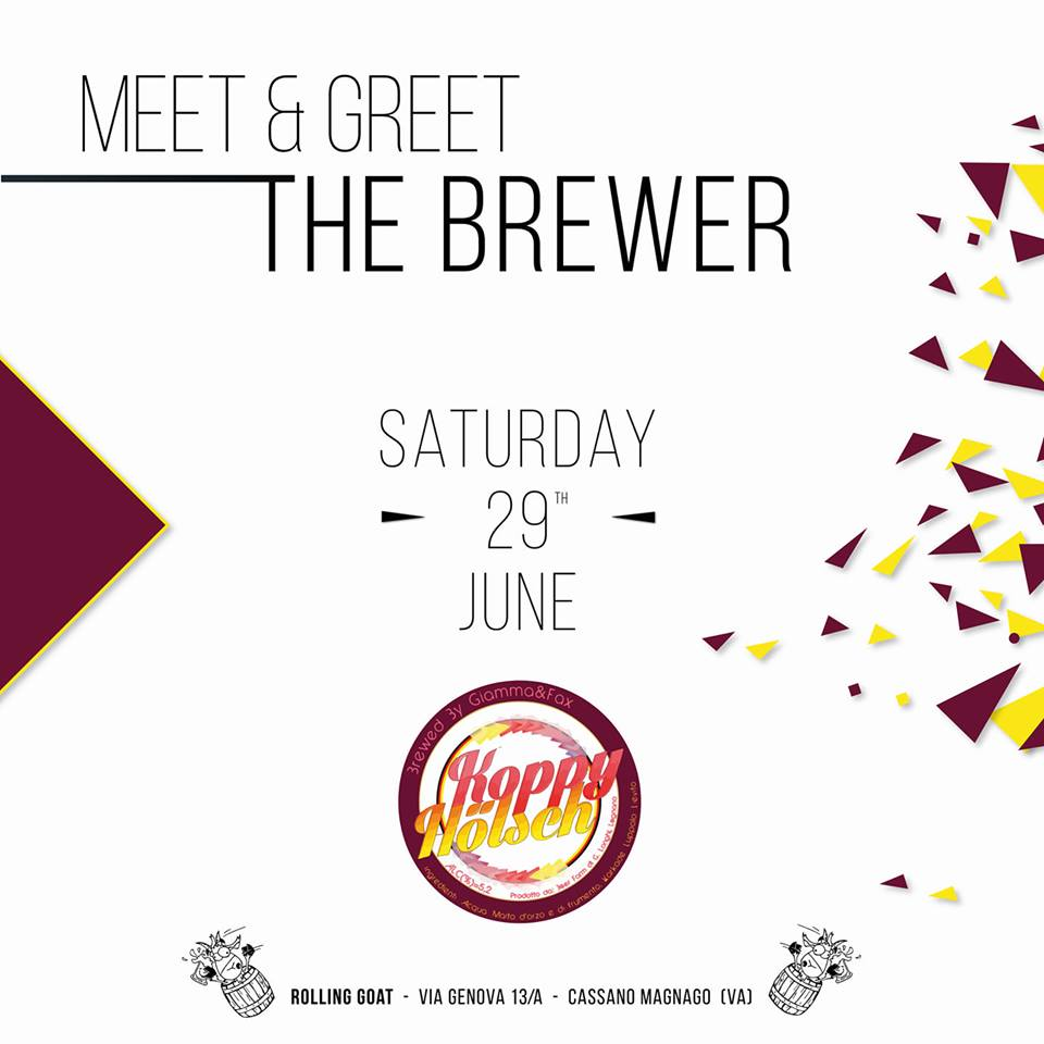 Meet & Greet The Brewer: Hoppy Hobby + Fax