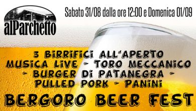 Festa della birra al Parchetto di Fagnano Olona il 31 Agosto e 1 Settembre: 3 Birrifici