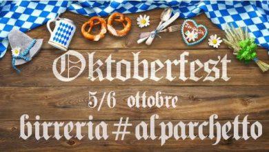 Oktoberfest al Parchetto 5 e 6 Ottobre a Fagnano Olona Fiumi di birra tedesca!!